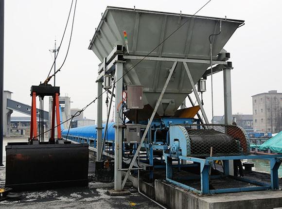 Zhejiang Branch coal hopper weighing system