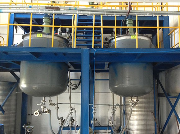 Long Run Weighing and Batching System