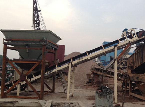 建材行业沙石料斗秤